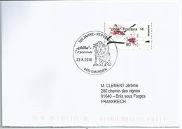 Vignette D'affranchissement Inform - ATM - Fleur - Sucisse Des Prés - Plantation D'un Arbre - 1945-.... 2nd Republic