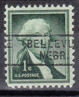 USA Precancel Vorausentwertung Preo, Locals Nebraska, Belvue 729 - Vereinigte Staaten