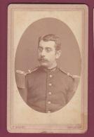 120918 - PHOTO CDV MILITARIA GUERRE - ROUMANIE F MANDY BUCURESCI - - Guerre, Militaire
