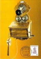 LUXEMBOURG  CARTE MAXIMUM  NUM-YVERT  1232 POSTE ET TELEPHONE - Cartoline Maximum