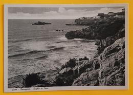 Cartolina Gaeta - Mareggiata - Scoglio La Nave - 1965 Ca. - Latina