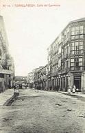 CPA  TORRELAVEGA : Calle Del Comercio - Cantabria (Santander)