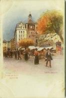 SWITZERLAND - J. REDMUND SIGNED 1900s LITHO POSTCARD - GENEVE TOUR DE 'ILE - EDIT VOUGA & C. (7142) - GE Geneva