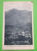 Cartolina - Corio Canavese - Panorama Col Monte Uja - 1927 - Italia