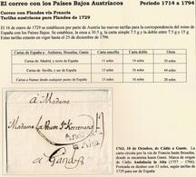 1763. CÁDIZ A GANTE. VÍA FRANCIA, HASTA BRUSELAS Y A GANTE. MARCA ANDALUCIA/LA ALTA NEGRO. - ...-1850 Préphilatélie