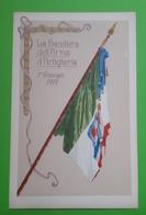 Cartolina - La Bandiera Dell'Arma D'Artiglieria - 1919 - Militari