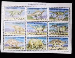 Angola  1998   Dinosaurs - Angola