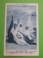 Cartolina - Anno Di Guerra 1915 - I Figli Dei Sovrani D'Italia - 1915 - Militari