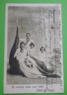 Cartolina - Militaria - Ai Marinai Della Cara Italia - Saluti E Auguri - 1918 - Militari
