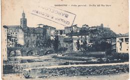 BARBASTRO  -  VISTA PARCIAL - ORILLA DE RIO VERO - Huesca