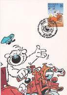 Carte Maximum  B.D. - Spirou - Timbre N°2578 - FDC - 1994 - Oblitération Bruxelles-Brussel - Maximum Cards