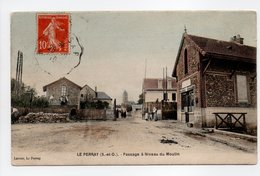 - CPA LE PERRAY (78) - Passage à Niveau Du Moulin 1910 - Edition Lacour - - Le Perray En Yvelines