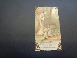 Devotieprentje ( 60 )  Communie  Communion :   Van Kerckhoven  -  Iddergem  1928 - Communion