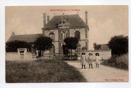 - CPA JEUFOSSE (78) - La Mairie (avec Personnages) - Photo A. Lavergne - - France