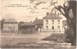 Dépt 15 - MASSIAC - Place Du Marché - (L. Roux, édit., N° 515) - Le Cantal Pittoresque - Autres Communes
