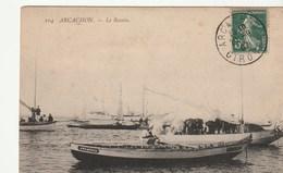 Arcachon ( Gironde) Le Bassin Avec Voiliers, Pinasses - Arcachon