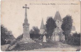 10. Eglise Et Calvaire De POIVRES. 33 - Autres Communes