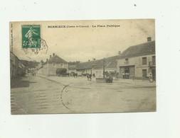 02 - BERRIEUX  - La Place Publique Animée Petit Pli Bas Gauche Sinon Bon Voir Scan - France