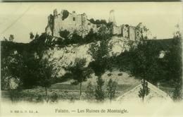 BELGIUM -  FALAËN LES RUINES DE MONTAIGLE - EDIT G.H. ED. A. - 1910s (7151) - Onhaye