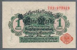 Pick 50 Ro 51b DEU-57b   1 Mark 1914 UNC ! - [ 2] 1871-1918 : Impero Tedesco