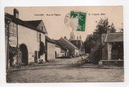 - CPA VAIVRE (70) - Rue De L'Eglise 1914 - Edition E. Talpain - - France