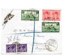 Egy225 / ÄGYPTEN - Ersttag 1.10.46. Flug-Navigations-Kongress Auf Brief Nach England Versandt - 1915-1921 British Protectorate