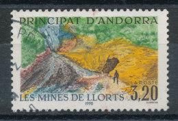Andorre N°386 Mines De Llorts - Andorra Francesa