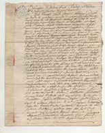 Loire Chuyer Pélussin 1768 - Manuscripts