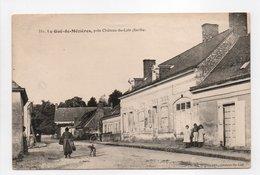 - CPA LE GUÉ-DE-MÉZIÈRES (72) - Rue Principale (avec Personnages) - Edition Huguet 351 - - Other Municipalities