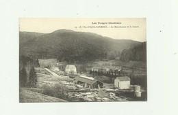 88 - LE VAL D'AJOL - FAYMONT - La Manufacture Et La Scierie Bon état - Autres Communes