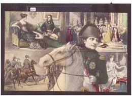 NAPOLEON A CHEVAL - PUZZLE COMPLET 10 CARTES NON CIRCULEES - TB - Historische Figuren