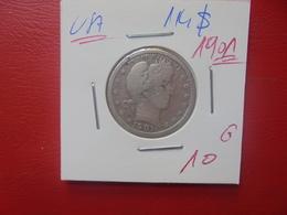 U.S.A 1/4$ 1901 ARGENT (A.3) - Bondsuitgaven