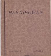 Tijdschrift Magazine Hernieuwen - Vlaanderen In Christus - 1931 - Orgaan Kath Studenten West Vlaanderen - Revues & Journaux