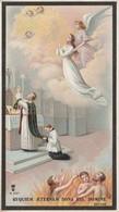 REQUIEM AETERNAM DONA EIS, DOMINE-Santino-Cromolitografia-Imprimatur Anno 1899-raro - Religión & Esoterismo