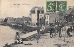 FINISTERE  29  L'ILE TUDY - LES REMPARTS - Ile Tudy
