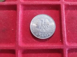 POLONIA 500 ZLOTYCH 1989 - Polen