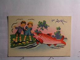 Fêtes - Voeux - 1er Avril - Poisson D'avril - 1 De April (pescado De Abril)