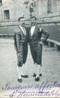 N°1561 T -cpa Bayard Et Racine -chefs De Quadrille- - Corrida