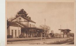 Cpa ( 52 Haute-marne ) Montier En Der , Le Gare - Montier-en-Der