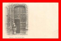 Ploermel *  Portail Sud église  * édition  ( Scan Recto Et Verso) - Ploërmel