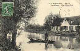 Saint Omer ( P De C) Le Marais L'Ile Sainte Marie RV - Saint Omer
