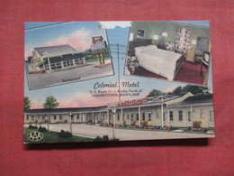 Colonial  Motel Hagerstown Maryland >  Ref 3833 - Hagerstown