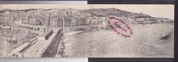Q2297 - Panorama D'ALGER - Algérie - Carte Panoramique 3 Volets - Alger