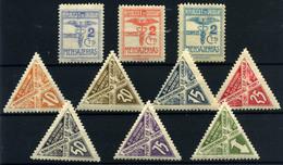 Uruguay (Paquetes Postales) Nº 14/15A, 34/40. Año 1923/29. - Uruguay
