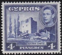 Cyprus    .    SG     .     156b      .    *       .    Mint-hinged       .   /   .     Ongebruikt - Cyprus (...-1960)