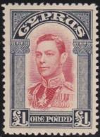 Cyprus    .    SG     .     163       .    *       .    Mint-hinged       .   /   .     Ongebruikt - Zypern (...-1960)