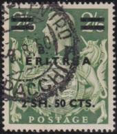 BMA  Eritrea   .    SG     .     E 23     .   O       .   Cancelled      .   /   .    Gebruikt - Great Britain (former Colonies & Protectorates)