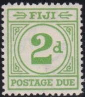 Fiji    .    SG     .   D 12       .   *      .  Mint-hinged     .   /   .    Ongebruikt - Fiji (...-1970)