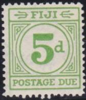 Fiji    .    SG     .   D 15    .   *      .  Mint-hinged     .   /   .    Ongebruikt - Fiji (...-1970)