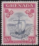 Grenada     .    SG     .    163f   .   Perf. 14     .    O         .    Cancelled       .   /   .   Gebruikt - Grenada (...-1974)
